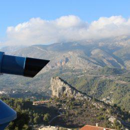 telescope on mountain