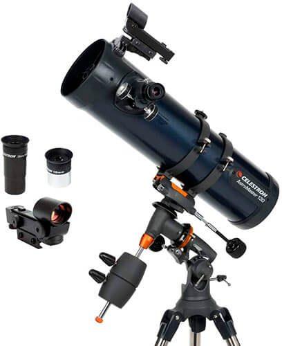 Celestron - AstroMaster 130EQ Newtonian Telescope