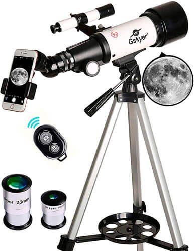 Gskyer Telescope 70mm Aperture Refracting Telescope