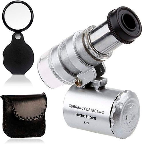 KINGMAS Mini 60x Microscope