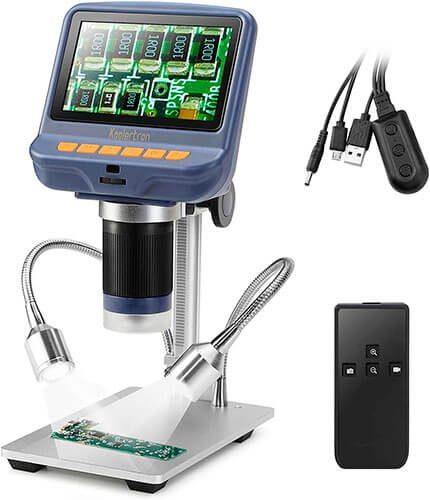 Koolertron 4.3 inches 1080P LCD Digital USB Microscope