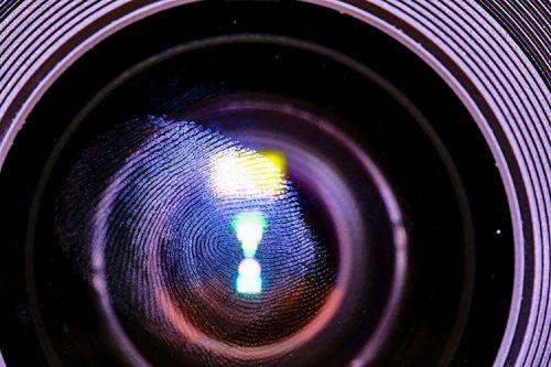 Fingerprint on Lens